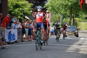 Winnaar Omloop Hoeksche Waard 2017, David Dekker